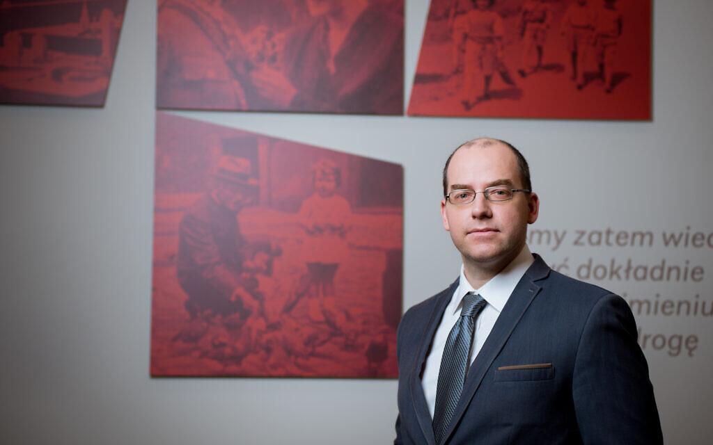 Wojciech Kozłowski, directeur de l'Institut Pilecki. (Avec l'aimable autorisation de l'Institut Pilecki)