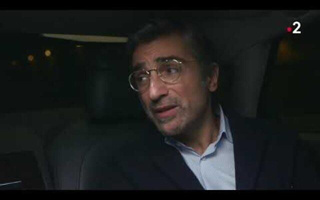 Franck Touboul, président du CRIF Midi-Pyrénées. (Capture d'écran YouTube / France 2)