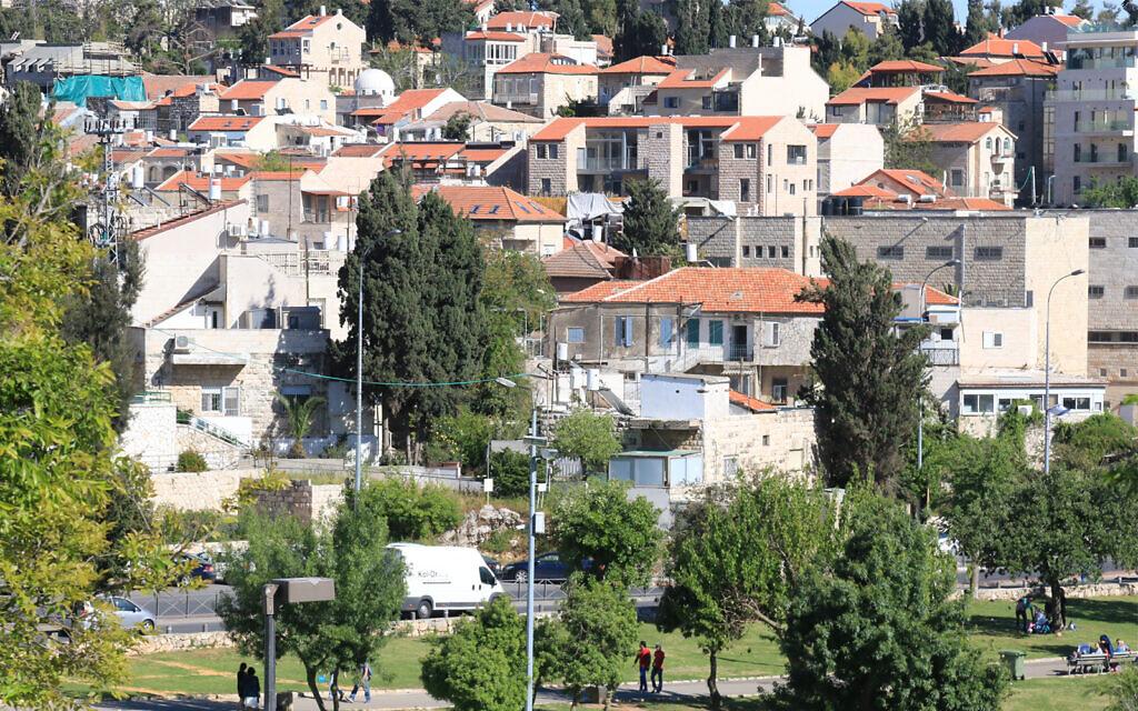 Le quartier de Nahlaot à Jérusalem, l'un des endroits les plus prisés de la capitale, avait accueilli un grand nombre des premiers immigrants kurdes au début des années 1990 (Crédit :Shmuel Bar-Am)