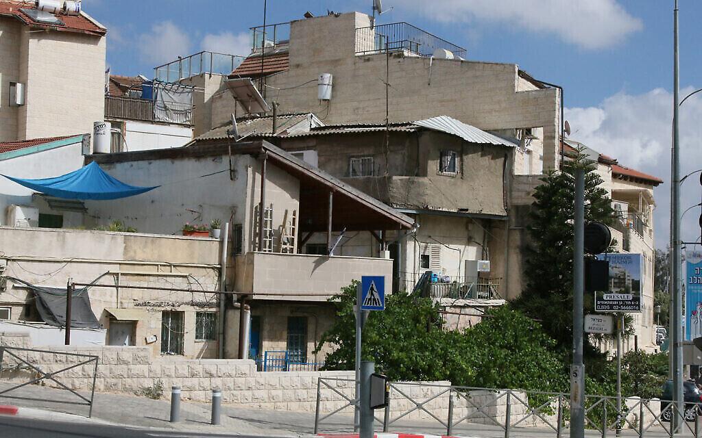 Le quartier Shaarei Rahamim à Nahlaot, à Jérusalem (Crédit :  Shmuel Bar-Am)