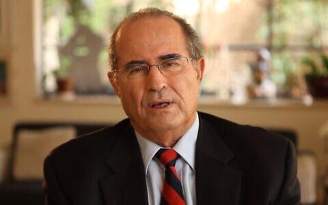Shabtai Shavit, ancien chef du Mossad. (Autorisation)
