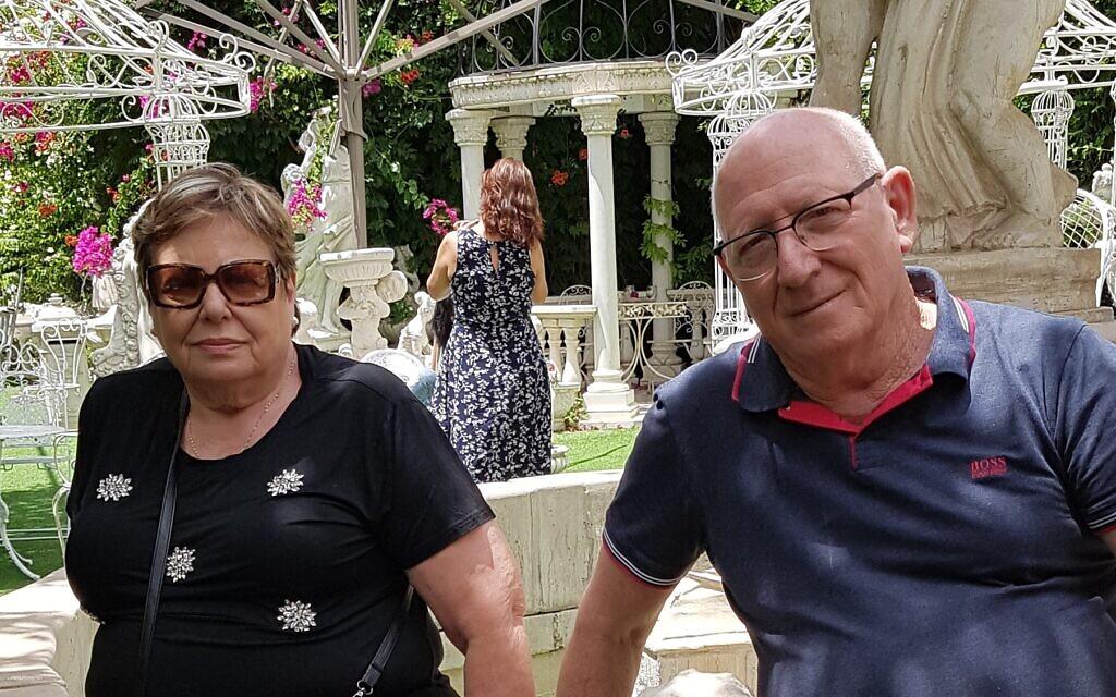 David Reicher et son épouse Rebecca, au mois de juin 2020 (Autorisation)