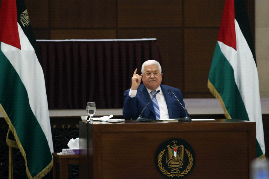 """Mahmoud Abbas, le """"pacificateur"""" absent 