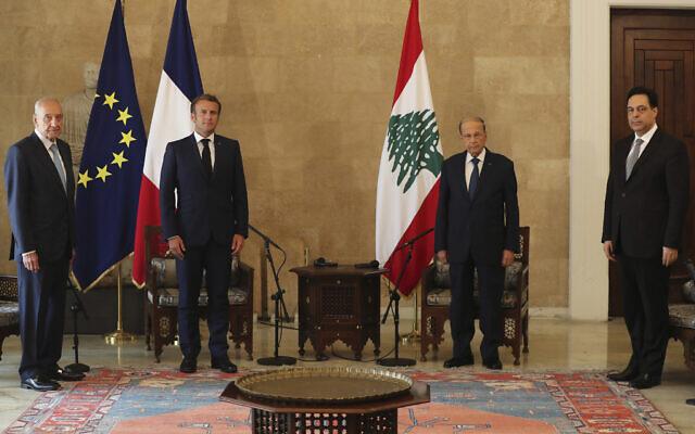 Démission du tout nouveau Premier ministre Mustapha Adib — Liban