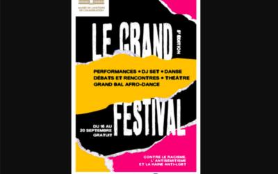 L'affiche de la cinquième édition du «Grand Festival».