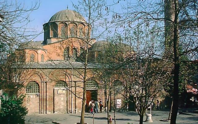 L'église Saint-Sauveur-in-Chora à Istanbul. (Domaine public)