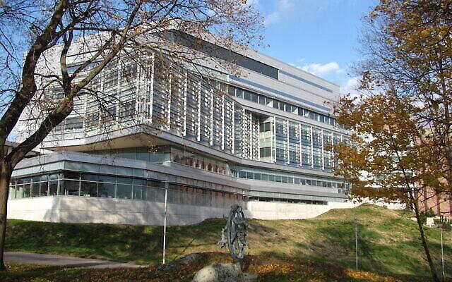 Le Centre scientifique Carl J. Shapiro de l'Université de Brandeis (Autorisation : Brandeis)