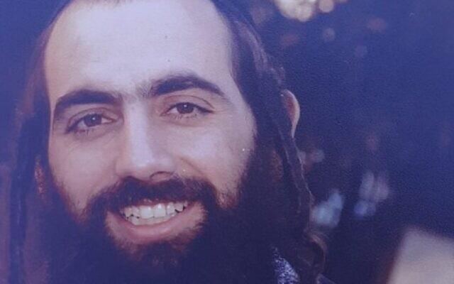 Le rabbin Shai Ohayon, victime d'une attaque au couteau, le 26 août 2020 à Petah Tikva (Crédit : autorisation)