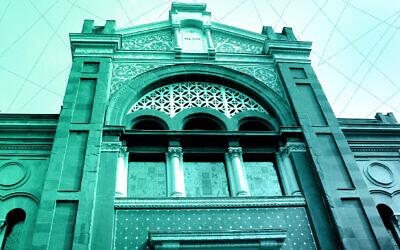 Le Heikhal de la synagogue David u-Mordechai à Milan en 2015. (Nicole Becker/picture alliance via Getty Images/ via JTA)