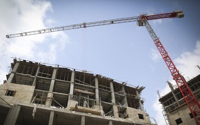 Photo d'illustration : Un site de construction (Crédit : Hadas Parush/Flash 90)