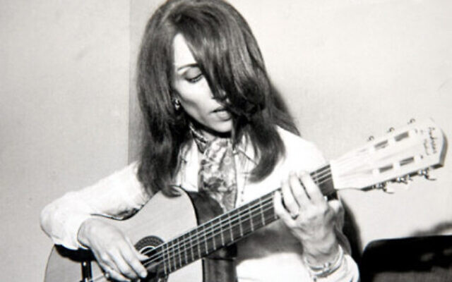 La chanteuse Fairouz dans les années 1970. (Crédit : Novalib2/ CC BY-SA 3.0)