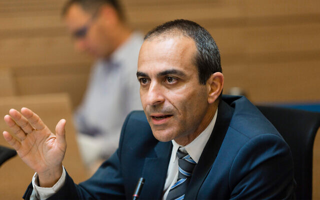 Ronni Gamzu lors d'une réunion de la commission des Finances à la Knesset, le 23 avril 2014 (Crédit : Flash90)