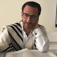 Le président de la communauté juive des Émirats arabes unis, Ross Kriel (avec son autorisation)