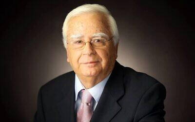 Haim Tzuri, le maire de Kiryat Motzkin . (Facebook)