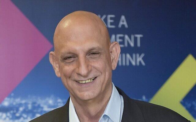 Aharon Aharon, PDG de l'Autorité israélienne de l'Innovation. (Autorisation)
