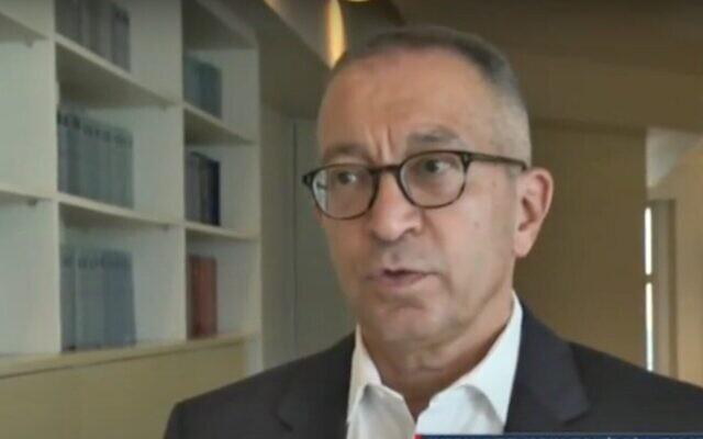 Capture d'écran d'une vidéo de l'avocat Boaz Ben Tzur. (YouTube)