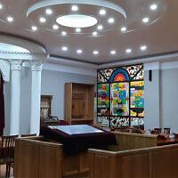 La synagogue ashkénaze de Tashkent, en Ouzbékistan. (Autorisation/L'Chaim via JTA)