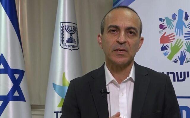 Le professeur Ronni Gamzu évoque les taux de contamination, le 16 août 2020. (Capture d'écran/Ynet)