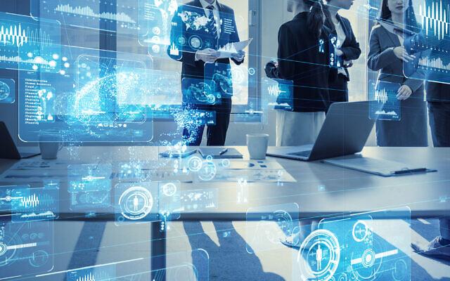 Photo d'illustration : Concept d'affaires et de technologie : Bureau intelligent  (Crédit : metamorworks; iStock by Getty Images)