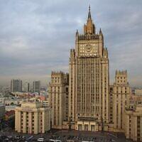 Le ministère russe des Affaires étrangères, à Moscou. (Frank Baulo / CC BY-SA 3.0)