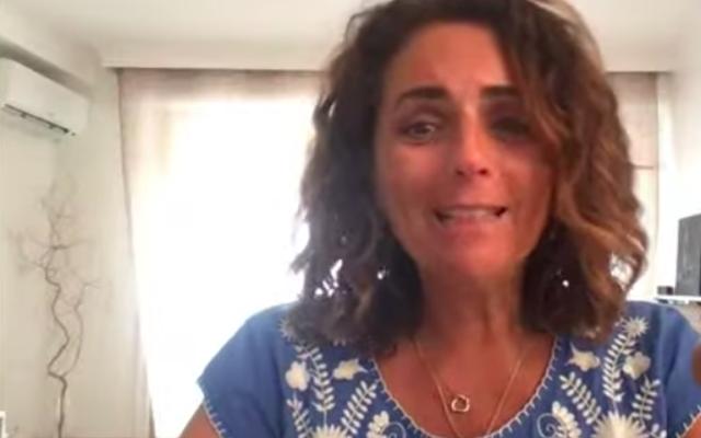 Valérie Benaïm (Crédit : capture d'écran YouTube)