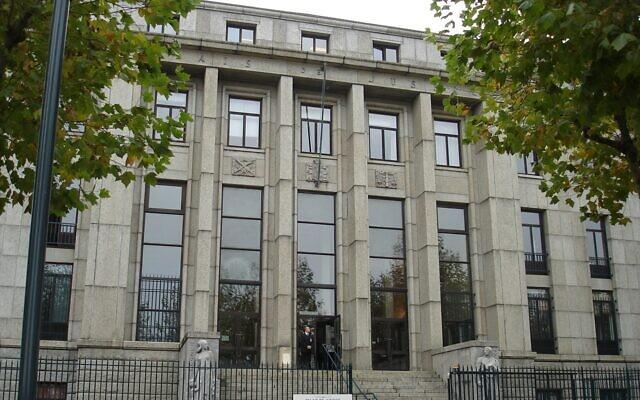 Le tribunal correctionnelde Brest(Finistère). (Crédit : R. Le Neillon / cours-appel.justice.fr)