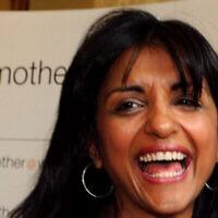 Geeta Sidhu-Robbat participe à une cérémonie de remise des prix à Londres, le 17 juin 2008. (Crédit : Fiona Hanson - PA Images via Getty Images via JTA)