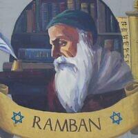 Une peinture murale à Acre, en Israël, en l'honneur de Nahmanide, également connu sous le nom de Ramban. (Wikimedia Commons)