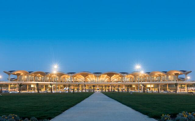 L'aéroport international de la reine Alia, à proximité d'Amman, en Jordanie. (Crédit : T1259 / CC BY-SA 3.0)