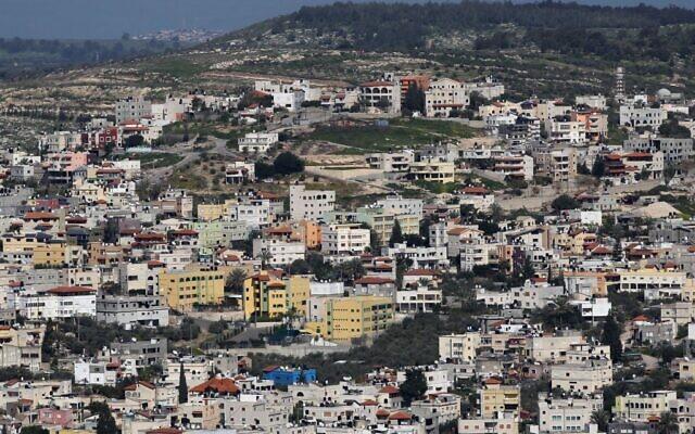 Kafr Kanna, dans la région de Galilée, le 28 mars 2011. (Nati Shohat/Flash90)
