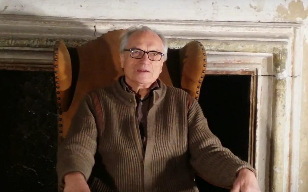 Horst Wachter parle des actions de son père, l'officier SS Otto Gustav von Wachter, pendant la Shoah dans 'What Our Fathers Did: A Nazi Legacy'  (Capture d'écran YouTube)