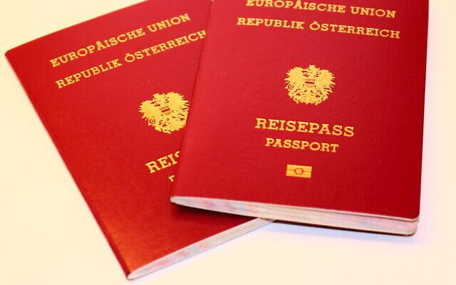 Passeports autrichiens (iStock.Getty Images)