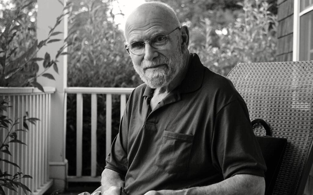 """Une photo d'Oliver Sacks figurant dans le documentaire de Ric Burns, """"Oliver Sacks : Sa propre vie"""". (Avec l'aimable autorisation de Ric Burns)"""