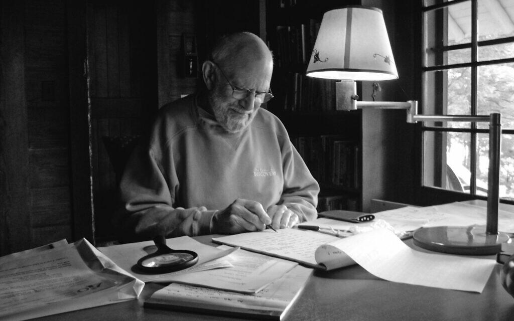 """Une photo d'Oliver Sacks tirée du documentaire de Ric Burns, """"Oliver Sacks : His Own Life."""" (Oliver Sacks : sa propre vie) (Avec l'aimable autorisation de Ric Burns)"""