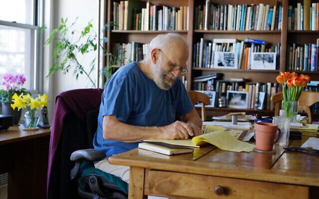 """Photo d'Oliver Sacks tirée du documentaire de Ric Burns, """"Oliver Sacks: His Own Life"""". (Avec l'aimable autorisation de la Commission)"""