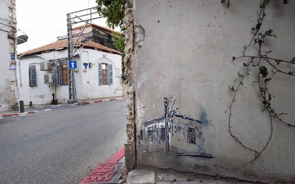 Street art à Tel Aviv par Dede. (Lord K2)