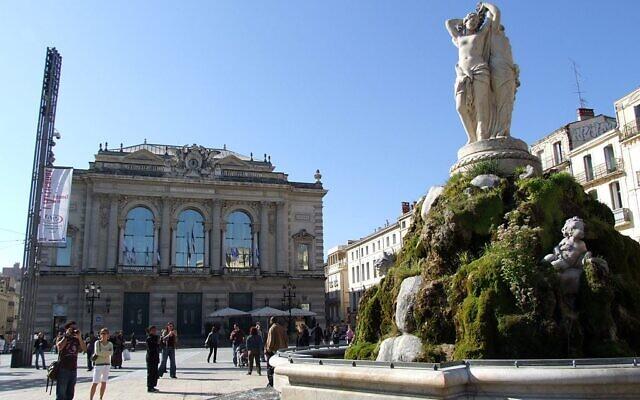La place de la Comédie, place principale de Montpellier. (Christophe.Finot / CC BY-SA 2.5)