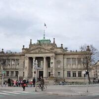 Le Palais de Justice de Strasbourg. (M.Strīķis/Palais de Justice / CC BY-SA 3.0)