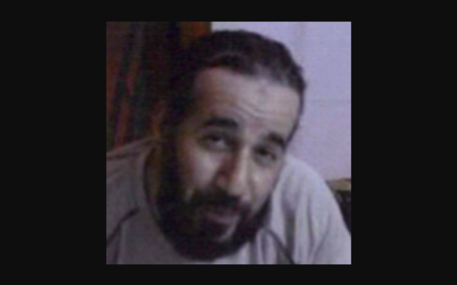 Abdelnasser Benyoucef. (Crédit : Capture d'écran Twitter)