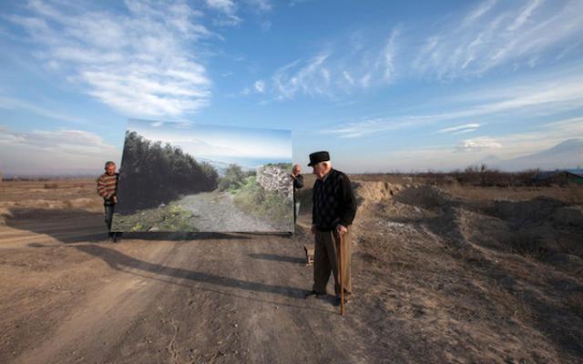 Une œuvre de la photographe américaine d'origine arménienne Diana Markosian, qui sera exposée au 8ème festival PHOTO IS:RAEL, débutant le 9 novembre 2020 (Crédit : Diana Markosian)