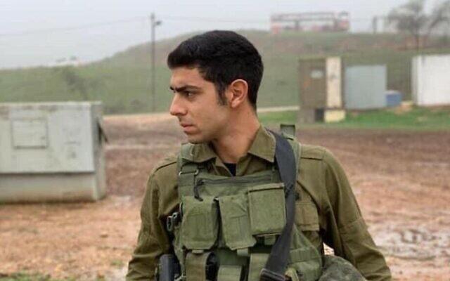 Le sergent de première classe Amit Ben-Ygal, tué après avoir reçu une pierre à la tête pendant un raid d'arrestations dans le village de Yabed, en Cisjordanie, le 12 mai 2020. (Crédit : Réseaux sociaux)