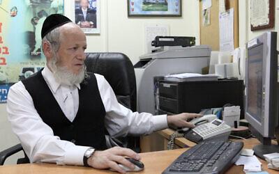 Le dirigeant de ZAKA, Yehuda Meshi-Zahav. (Yaakov Naumi/Flash90)