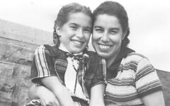 Franci Rabinek Epstein et sa fille Helen Epstein, New York, vers 1950. (Avec l'aimable autorisation de Helen Epstein)