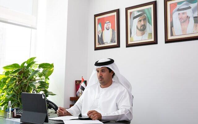 Helal Saeed Almarri, directeur général du World Trade Centre Authority (DWTCA) de Dubaï et du Département du marketing du tourisme et du commerce (DTCM) de Dubaï. (Autorisation)