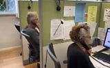 Les écoutants d'un centre d'appel ERAN. (Autorisation : ERAN)