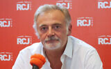Jean-Marie Montali au micro de RCJ. (Crédit : capture d'écran RCJ)