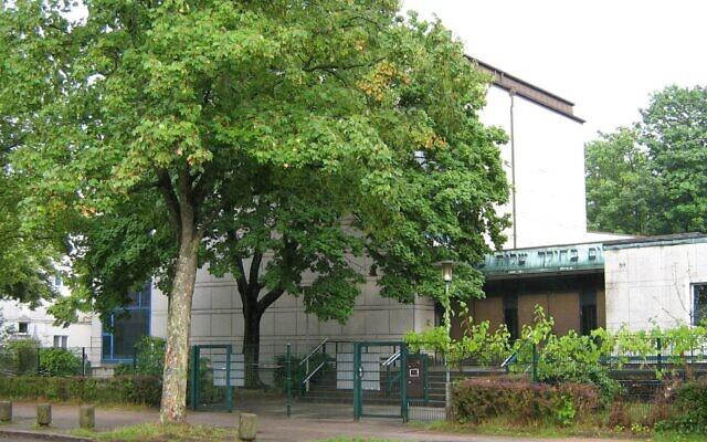 La synagogue de Hohe Weide à Hambourg, en Allemagne. (Wikimedia Commons)