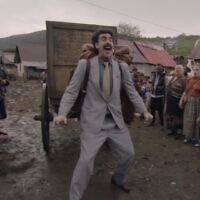 Sacha Baron Cohen dans la bande-annonce de la suite de Borat. La bande-annonce est sortie sur Amazon le 1er octobre 2020. (Capture d'écran/YouTube)