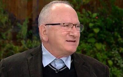 L'ancien directeur adjoint du Sin Bet, Yitzhak Ilan (Capture d'écran)