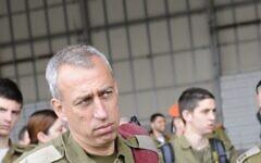 Nachman Ash lors d'une cérémonie de bienvenue pour une délégation militaire israélienne au Japon, le 12 avril 2011. (Porte-parole de l'Armée israélienne)